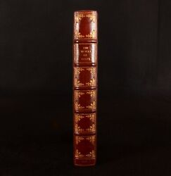 1717 The Works Of Mr Alexander Pope First Edition Large Paper Morocco Binding