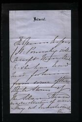 1869 Balmoral - Queen Victoriaand039s Amazing Letter - Her Gift To Henry Ponsonby