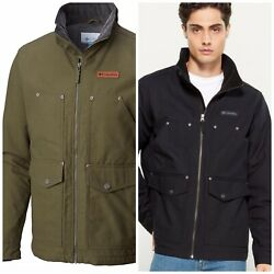 150 Columbia Menand039s Big And Tall Loma Vista Fleece Lined Water-resistant Jacket