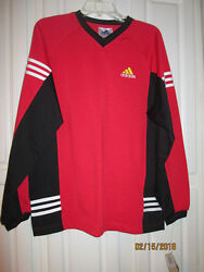 Vintage Adidas Long Sleeved Soccer Jersey Youth X- Large Nwt