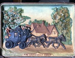 Signed By H R Worth Scottish Artist Antique 1800's Wall Panels Set 3