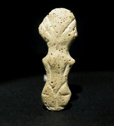 Exclusive And Extremely Rare Prehistoric Figure 6000 – 3000 Bc Vinca Culture