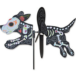 Day Of The Dead Dog 16 Whirligig Petite Staked Wind Spinner..11..... Pr 25192