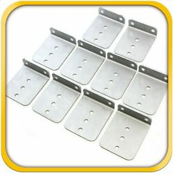 10 6 X 5 Hot Dipped Galvanized L Type Boat Trailer New Bunk Board Brackets New
