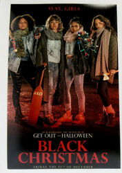 Imogen Poots Signed 12x18 Photo Black Christmas Poster