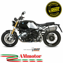 Mivv Bmw R Nine T 2015 15 Exhaust Motorcycle Slip-on Suono Steel Approved High