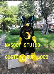 Cute Dog Mascot Costume Suit Cosplay Party Fancy Dress Outfit Halloween Adults