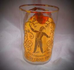 Stunning Shriners Syria Convention Glass Collection 1897-1911 10 Glasses In All