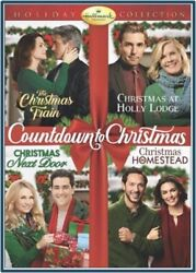 Hallmark Channel Holiday Collection 4 Movie Countdown To Christmas New Dvd