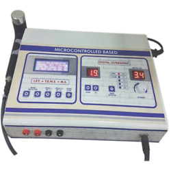 Combo Of Ultrasound + Ift+tens+ms Electrotherapy Physiotherapy Machine