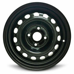 Set Of 4 Steel Wheel Rims 14 Inch For 2006-2017 Hyundai Accent 14x5.5 In 4 Lug