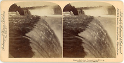 Stereo, Usa, Niagara Falls, From Prospect Point, 1894 Vintage Stereo Card - Stro
