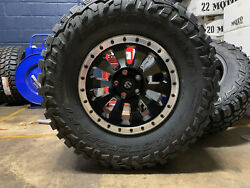 17x9 Fuel D629 Tactic 35 Mt Wheels Rims Tires Package 6x5.5 For Toyota Tacoma