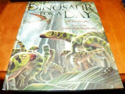 DINOSAUR FOR A DAY Dinosaurs Childrens Classic Prehistoric Story Jim Murphy Book $9.95