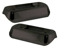 Exhaust System Muffler Saddlebag Supports Brackets Support Covers Harley Touring