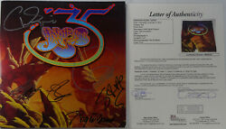 Signed Classic Yes Autographed Tour Program Book Certified Authentic Jsa Bb28355