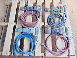 4 Chipping Chipper Demo Jack Hammer Digger Sullair Air Compressor Tool Lot