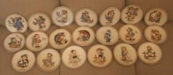 Set Of 20 Hummel Plates 1972 - 1991 - 16 In Orig Boxes - Xlnt Condition