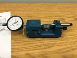 Dorsey J2 Bench Gage With Blade Contacts And Mitutoyo Indicator W/ Cal Cert