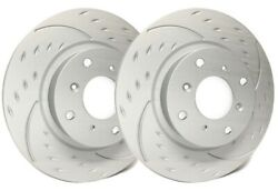 Sp Performance Front Rotors For 2010 S4 345mm | Diamond Slot W/ Zrc D01-405626