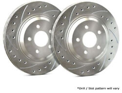 Sp Front Rotors For 1999 K3500 W/ Dual Rear Wheels | Drill + Slot F55-028-p1846