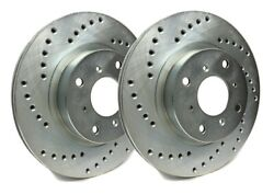 Sp Performance Front Rotors For 2010 X6 Xdrive50i | Drilled Zinc C06-409-p2873