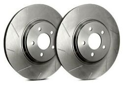 Sp Front Rotors For 2008 Xkr Excl Alcon Brake Package   Slotted T23-384-p6160