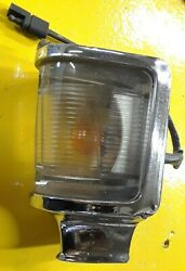 Ford 1968 Torino Lh Left Parking Light Assembly - Lens C80b-13216-a Used 1