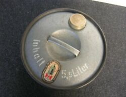 Raaare Gas Can 5,5 Liter Mercedes Mb Vw Vintage Jerry Reserve Tire Container