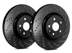Sp Front Rotors For 2004 Legacy Gt Limited | Drilled Black C47-1624-bp3750