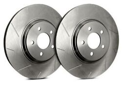 Sp Front Rotors For 1992 911 Exclturbo Or Turbo Look   Slotted T39-071-p3217