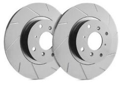 Sp Performance Front Rotors For 2009 Impreza 2.5 Gt   Slotted W/ Zrc T47-4071059