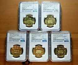 Ngc First Releases Maccoin Ms 67+68 Set-big Mac 50th Anniversary Coins Mcdonalds