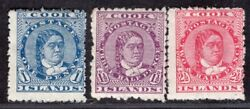 Cook Islands 1893/4 Stamp Sc. 10/2 Mh