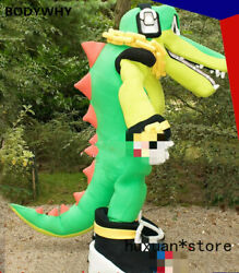 2020 Crocodile High-quality  Handmade Mascot Costume Suits Party Outfits Popular