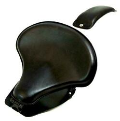 2015-21 Indian Scout And Bobber Spring Tractor Seat 15x14 Blk Mounting Kit Pad Cs