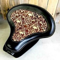 2015-2021 Indian Scout Bobber Spring Tractor Seat 15x14 Leather Mounting Kit