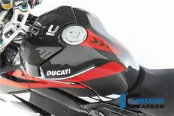 Ilmberger Racing Gloss Carbon Fibre Fuel Tank Cover Ducati Panigale V4 S 2019