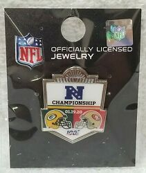 Wincraft Nfl Pin Green Bay Packers 49ers Sf Gameday Championship 2020 Round New
