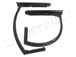 Front Vent Window Seals Fits1948-1951 Willys Jeepster Fast Shipping Usa Made
