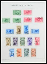 Lot 31484 Collection Stamps Of Italian Colonies General Issues 1932-1934.