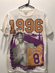 Kobe Bryant Rookie T Shirt Great Condition Size Medium Men's Chest 18 Inches