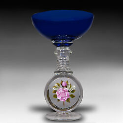 Victor Trabucco 2005 Pink Rose Crystal Chalice