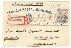 Mexico Postal Letter Card-hga14a-uprated Sc297x3-mexico City 4/may/1900
