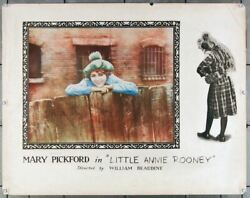 Little Annie Rooney 1925 27277  Mary Pickford Movie Poster