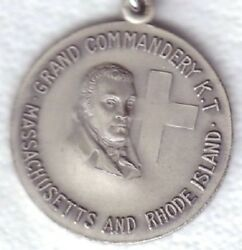 C970 Knights Templer Medal Grand Commandery Mass. And R.i.
