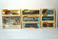 Vintage Bachmann Ho Locomotive Train Engine, Cars Tracks And Power / New In Boxes