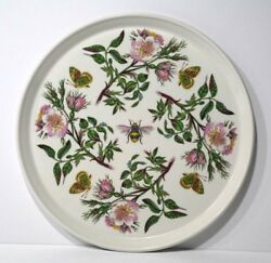 Portmeirion The Botanic Garden Harmony Of Nature Butterfly Serving Tray