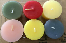 Home Interior-assorted Scented Votive Candles Burn Time 15 Hrs.