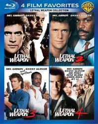 4 Film Favorites Lethal Weapon Collection New Blu-ray All 4 Films 1 2 3 4